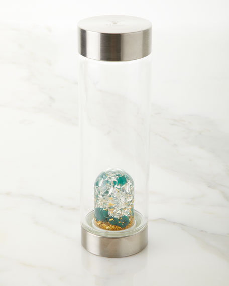 Gem Water by VitaJuwel Prosperity Gem Water Bottle