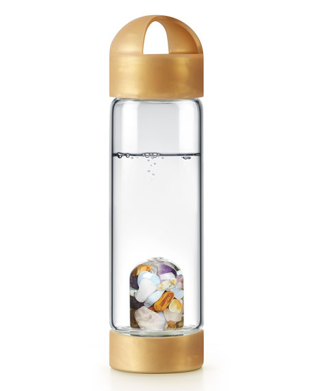 Gem Water by VitaJuwel Limited Edition Liquid Gold Silicone Carrying Loop