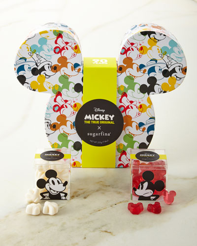 Disney Mickey Mouse  Ears 2-Piece Candy Bento Box