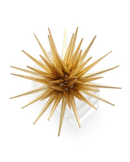 Kim Seybert Astrid Starburst Napkin Ring, Golden