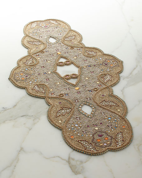 Kim Seybert Ritz Beaded Runner