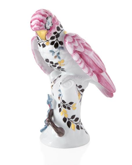 Christian Lacroix Porcelain Parrot