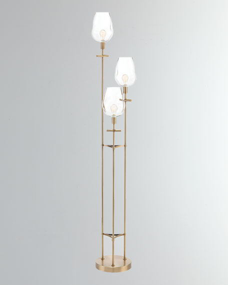 John-Richard Collection Tripod Torcheire Floor Lamp