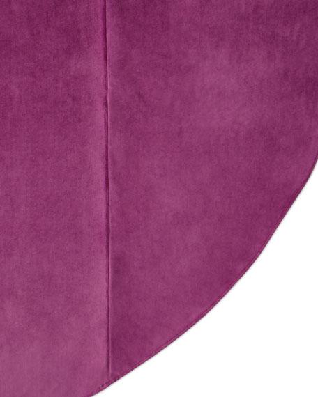 Dian Austin Couture Home Royal Court Velvet Round Tablecloth