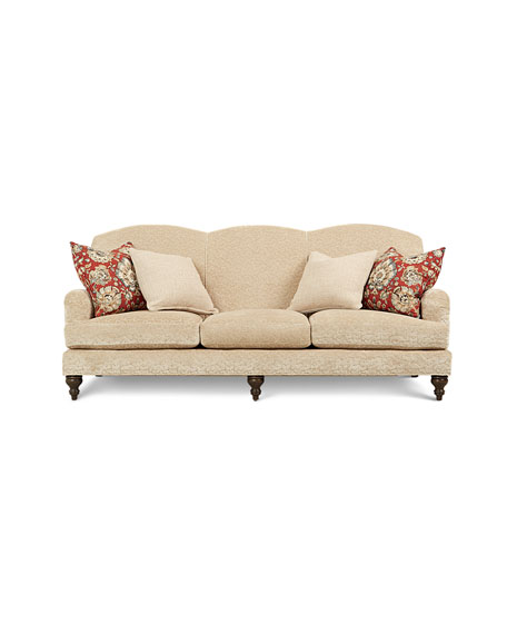 Alicia Rolled Arm Sofa 87""