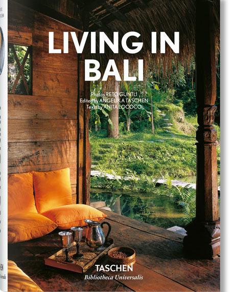 """Taschen """"Living in Bali"""" Book"""