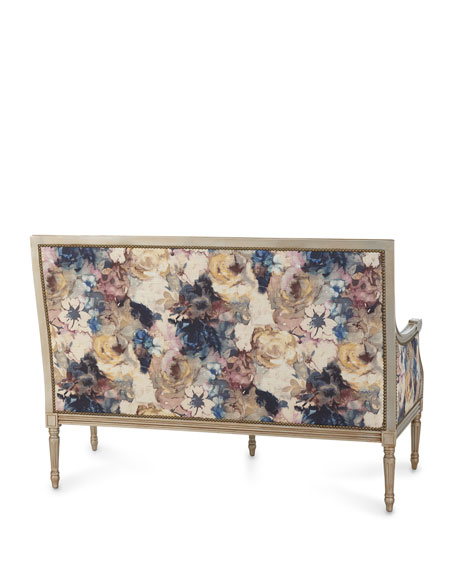 Massoud Windsor Floral Settee