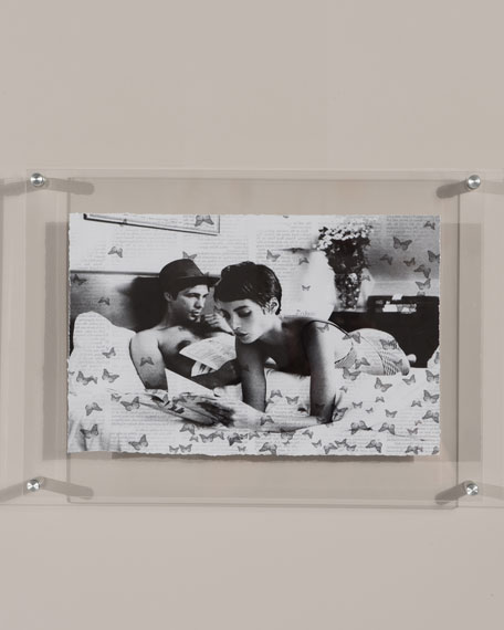 "RFA Fine Art ""Butterfly Stories"" Print Photography Art in Plexi Frame"