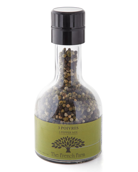 The French Farm 3 Pepper Mix Mill