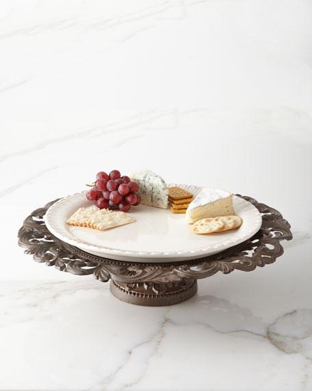 G G Collection Pedestal Serving Platter
