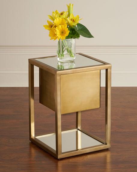 Global Views Gladstone Pedestal Side Table