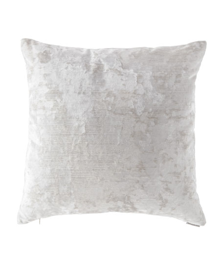 D.V. Kap Home Miranda Textured Pillow, Pearl