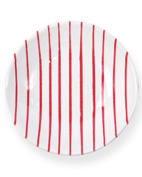 Vietri Striped Pasta Bowl