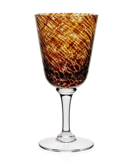 William Yeoward Vanessa Wine Glass, Tortoise