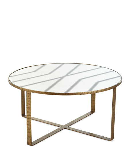 Image 3 of 3: Celerie Kemble for Arteriors Nomad Cocktail Table