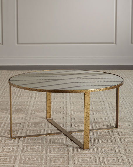 Image 1 of 3: Celerie Kemble for Arteriors Nomad Cocktail Table