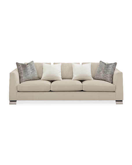 Image 2 of 5: caracole Best Foot Forward Sofa 96""