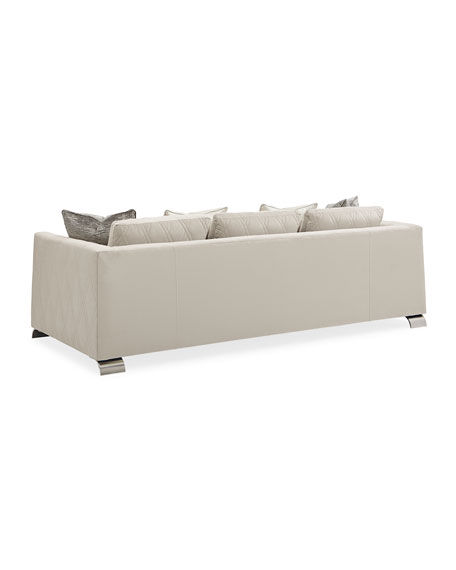Image 5 of 5: caracole Best Foot Forward Sofa 96""