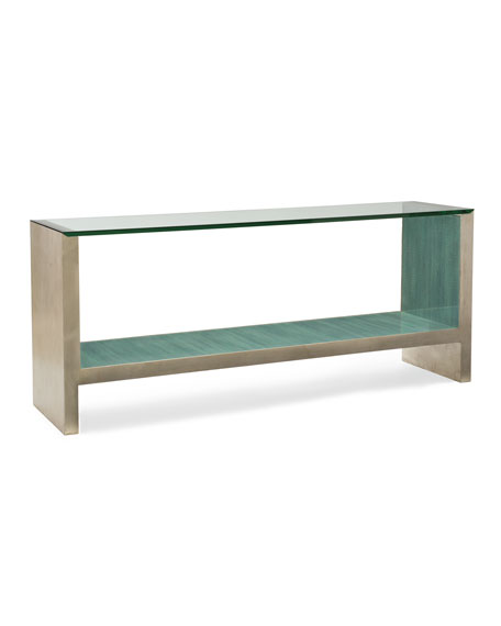 Image 2 of 3: caracole At Waters Edge Console Table