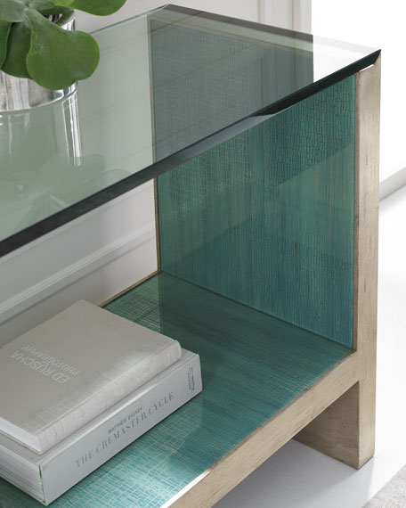 Image 3 of 3: caracole At Waters Edge Console Table