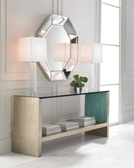 Image 1 of 3: caracole At Waters Edge Console Table