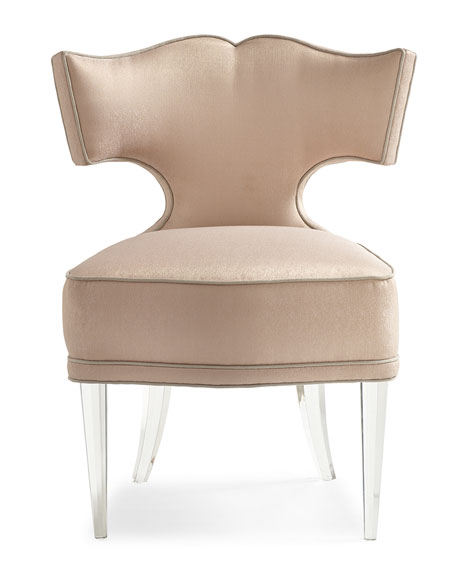 caracole Facet-Nating Accent Chair