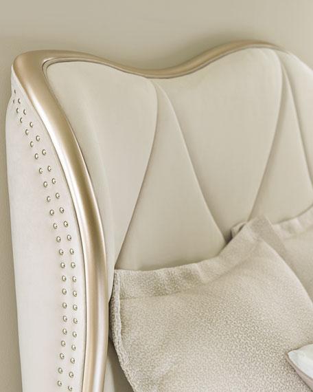caracole Adela Upholstered King Bed