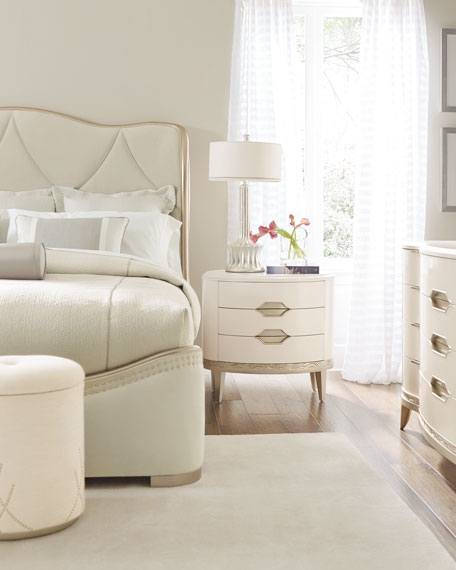 caracole Adela Upholstered Queen Bed