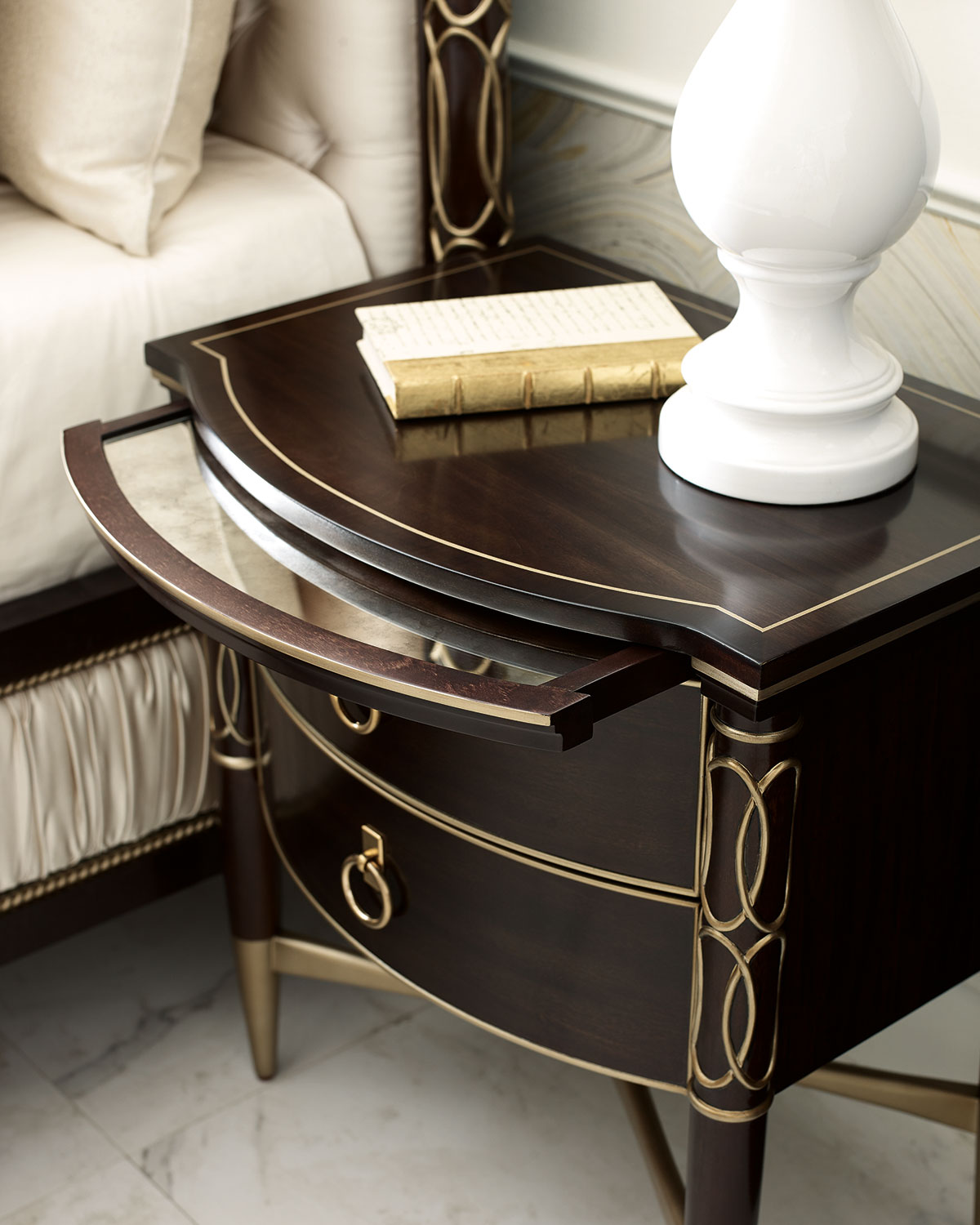 Caracole Everly Narrow Night Stand Neiman Marcus