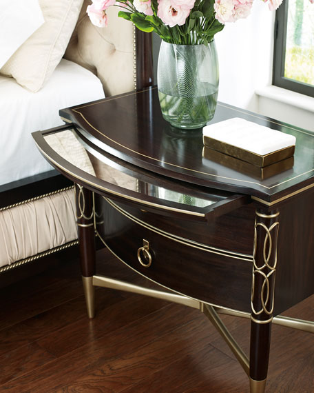 caracole Everly Wide Night Stand