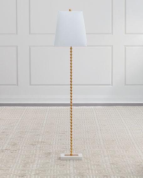 Jana Gold Ball Floor Lamp