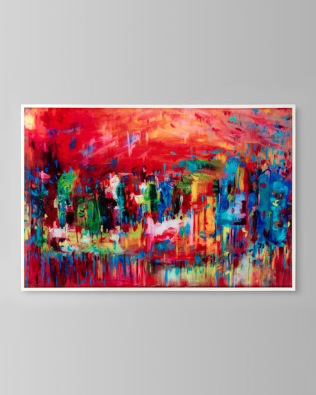 """John-Richard Collection """"Venice in Reds"""" Canvas Art by Stephanie Saunders"""