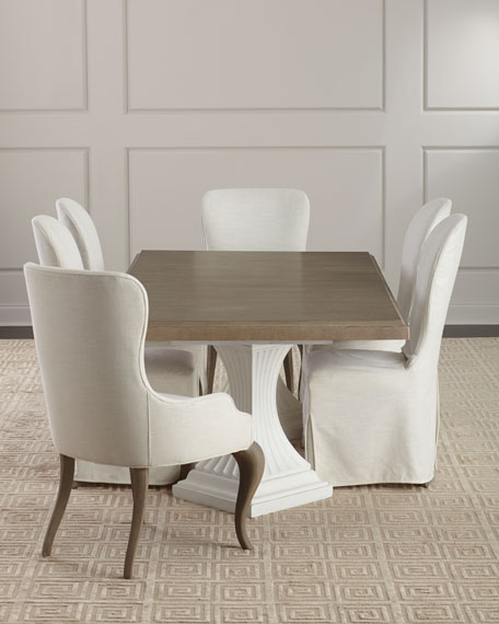 Pair of Eleri Slipcover Dining Side Chairs