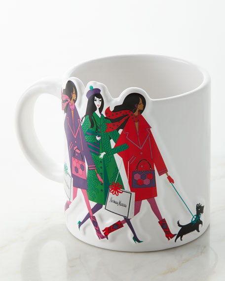 Shopping Ladies Ceramic Mug