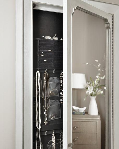 Hooker Furniture Eleri Floor Mirror with Jewelry Storage