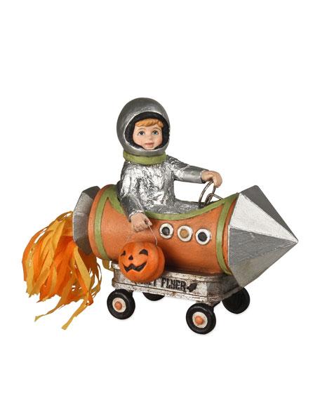 Bethany Lowe Little Halloween Rocket Boy Decoration