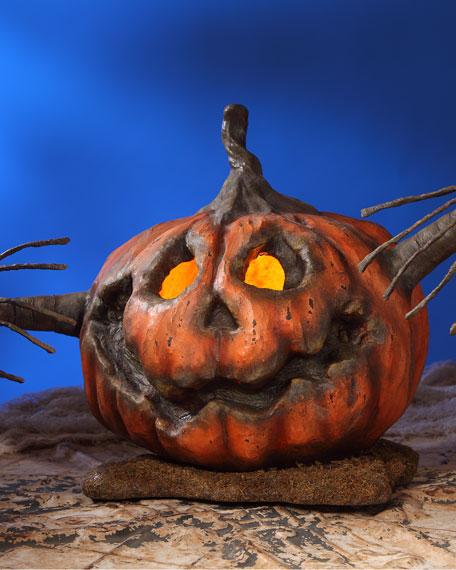 Bethany Lowe Into the Woods Pumpkin Halloween Decoration