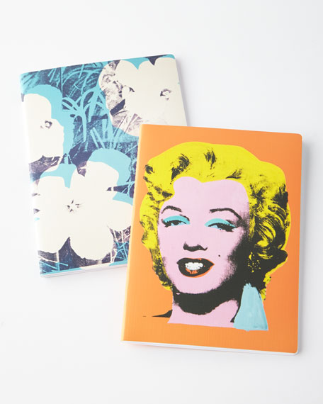Andy Warhol Writers Notebooks, Set of 2