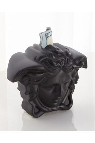 Versace Break The Bank Money Box, Black