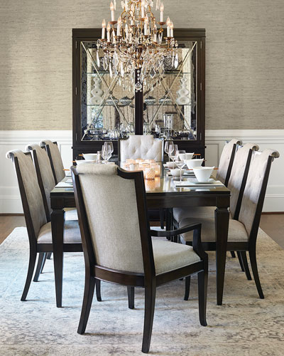 Sutton House Rectangle Dining Table with 2 Leaves