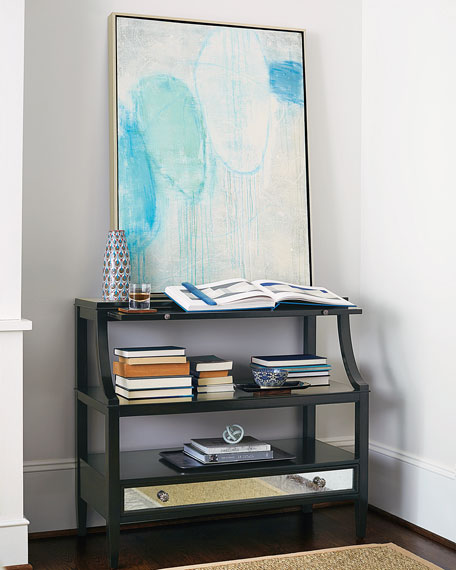 Bernhardt Sutton House Open-Shelf Storage Chest