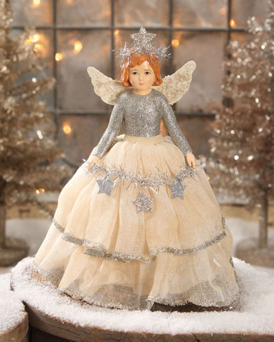 Flea Market Angel Tree Topper/Table Piece