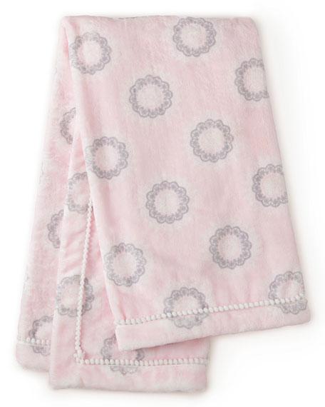 Levtex Willow Medallion Blanket, Pink