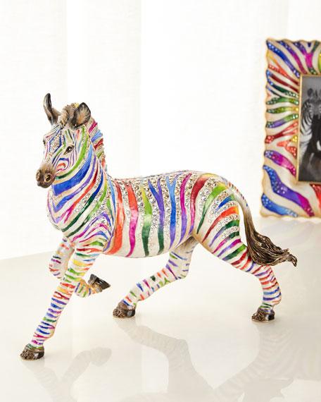 Jay Strongwater Zebra Figurine