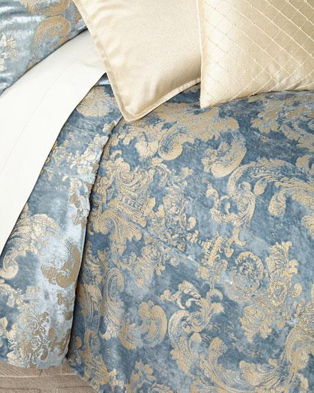Isabella Collection by Kathy Fielder Gabriella Velvet Queen Duvet