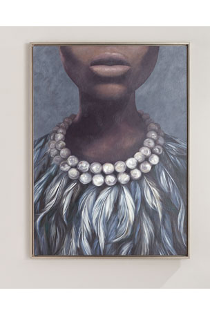 """""""Evening Dress"""" Giclee Wall Art"""