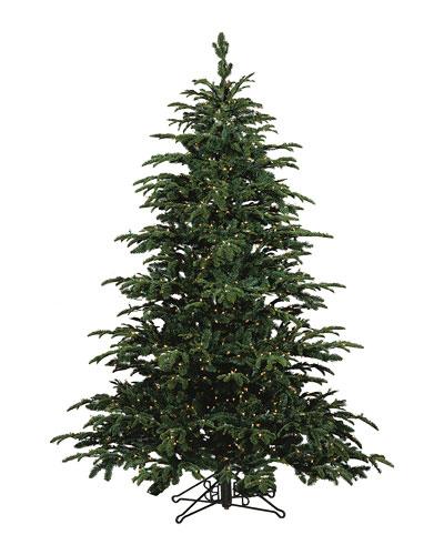 Star Fir Deluxe Glow Warm White LED Christmas Tree  7.5'