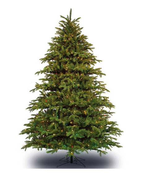 Alaskan Deluxe Multi-LED Christmas Tree, 7.5'