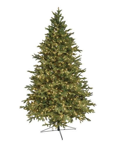 Alaskan Deluxe Warm White LED Christmas Tree  7.5'