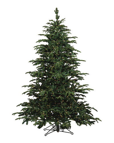 Star Fir Deluxe Glow Warm White LED Christmas Tree  9'